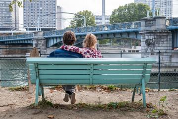 Scène de vie à Paris