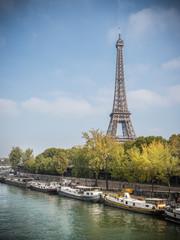 Scène de vie bord de Seine