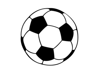 Football soccer ball illustration