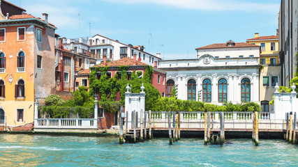 Fototapete - Grand Canal in summer, Venice, Italy