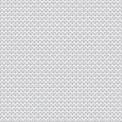 White and grey polka dot seamless pattern, geometric retro backg