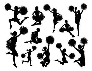 Cheerleader Silhouettes