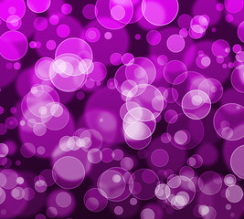 Abstract bokeh glitter background
