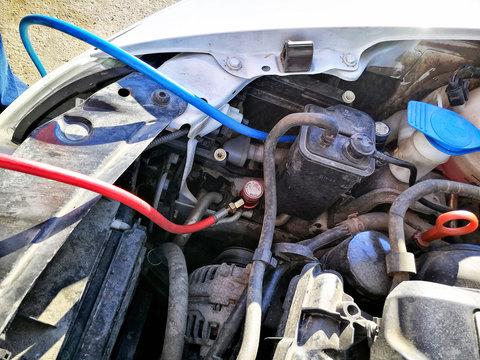 Automobile AC refill