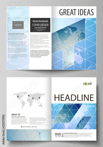 The vector illustration of the editable layout of two a4 format the vector illustration of the editable layout of two a4 format modern cover mockups design templates gumiabroncs Choice Image