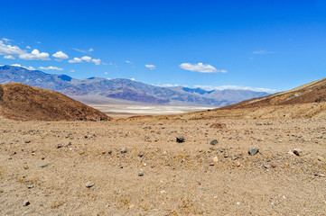 Nothing Grows in this Desert Landscape Found in Death Valley National Park of California