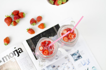 refreshing  healthy summer drink for ladies lady