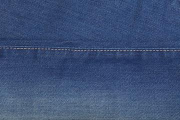 Blue washed jeans denim texture background