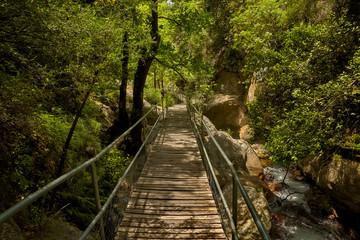 The Sapadere canyon in the Taurus mountains, Alanya, Turkey