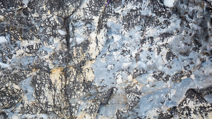 Wall Mural - Patterned stones background or texture