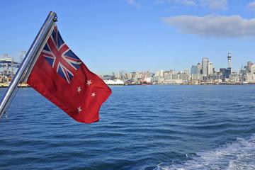 Keuken foto achterwand Oceanië The New Zealand Red Ensign