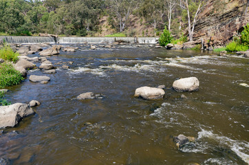 Dights Falls Downstream