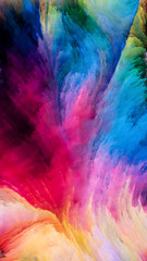 Way of Colorful Paint