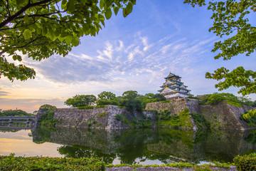 大阪城の風景