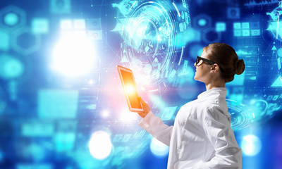 Innovative technologies as science. Mixed media