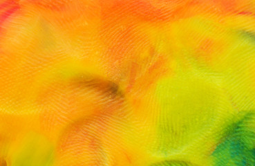 Background of multi-colored plasticine, macro photography, background