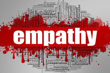 Empathy word cloud.