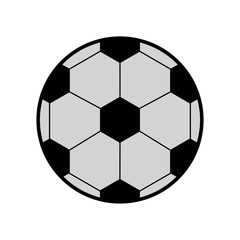 Soccer icon vector icon. Simple element illustration. Soccer symbol design. Can be used for web and mobile.