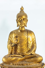 Golden Old Buddha Statue