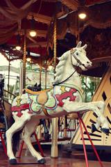 Vintage Merry go round horse