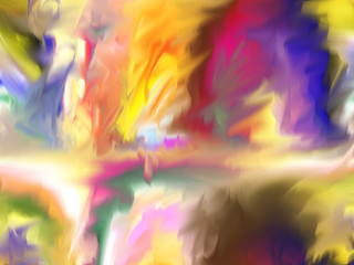 Abstract. Art. Painting. Graphic. Abstraction