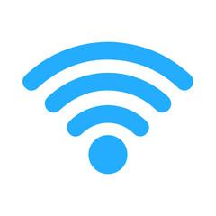 Wi-Fi signal icon - blue