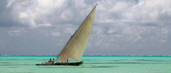 Indian ocean, Zanzibar - typical dhow I