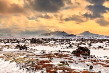 Winter on Snaefellsnes peninsula