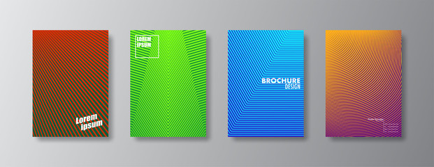 Abstract cover and brochure design.Colorful geometric concepts.Vector eps10.