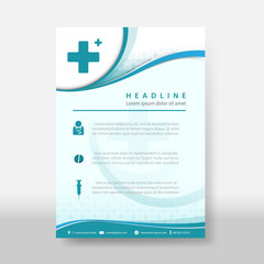 Medicine and science Flyer & Poster Cover Template