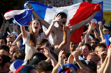 Soccer Football - World Cup - Final - France vs Croatia - Nice