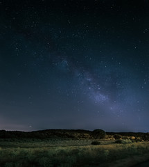 Milky Way in a summer night