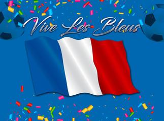 foot - vive les bleus, l'équipe de France champion du monde