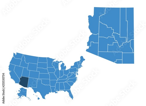 Arizona State Map Free.Map Of Arizona State Stock Image And Royalty Free Vector Files On