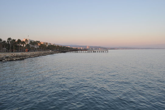 The beautiful Limassol Molos in Cyprus