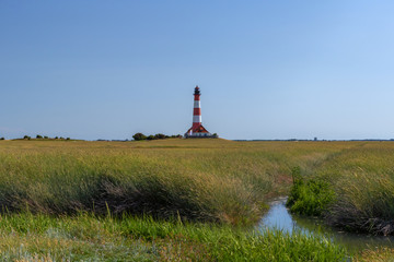 Westerhever Lighthouse Germany