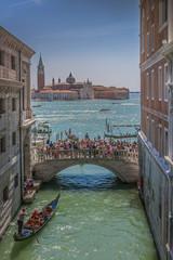 Wall Mural - View of the Venetian lagoon and San Giorgio Maggiore