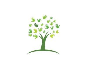 Hand Tree icon