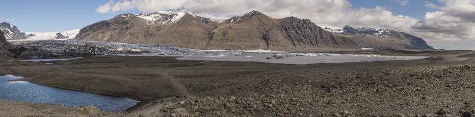 Skaftafellsjökull Panoramic