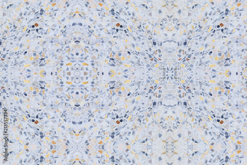 Terrazzo Flooring Old Texture Or Polished Stone Pattern