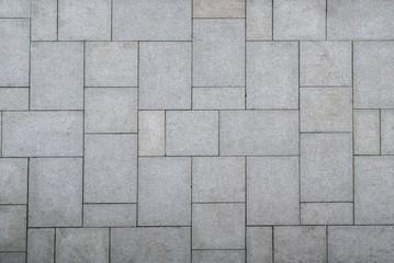 floor pattern from stone slabs