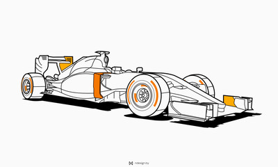 Papiers peints F1 Sport car