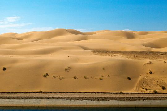 Yuma Sand Dunes in Arizona