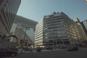 大阪 都市風景