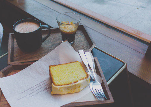 Coffee and Cake for the date
