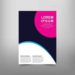 Modern Vector abstract book cover template. Vector of modern abstract background