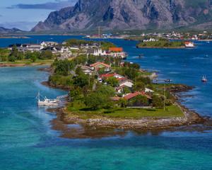 Brønnøysund in Norway