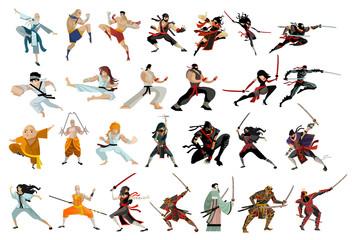 martial arts characters