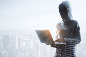 no face hacker and city