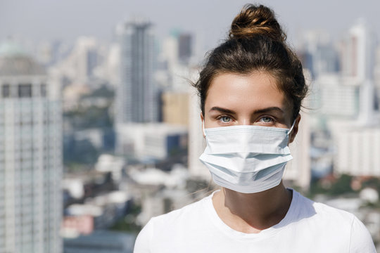 Air pollution or virus epidemic in the city